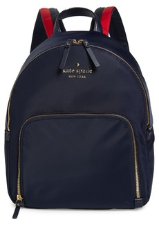 kate spade new york watson lane - hartley varsity stripe nylon backpack