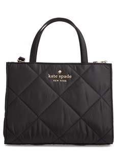 kate spade new york watson lane - quilted sam leather satchel