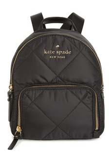 kate spade new york watson lane - quilted small hartley nylon backpack