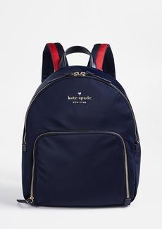 Kate Spade New York Watson Lane Hartley Backpack with Varsity Stripe