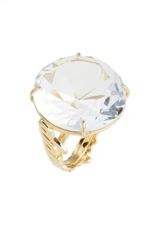 kate spade new york 'what a gem' crystal cocktail ring