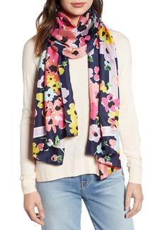 kate spade new york wild bouquet silk scarf