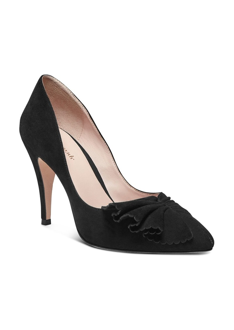 kate spade new york Women's Alessia Ruffle Pumps