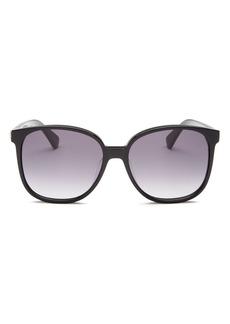 kate spade new york Women's Alianna Square Sunglasses, 56mm