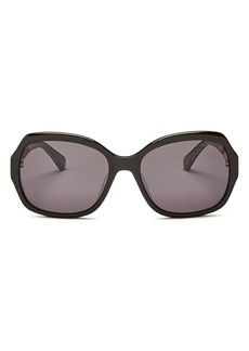 kate spade new york Women's Amberlynn Square Sunglasses, 57mm