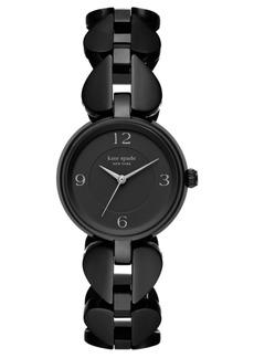 Kate Spade New York Women's Annadale Black Spade Stainless Steel Bracelet Watch 30mm