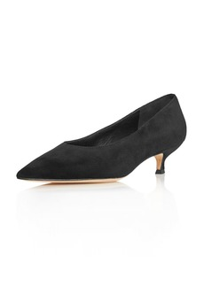 4a1e3744869 kate spade new york Women s Dale Pointed Toe Suede Kitten Heel Pumps