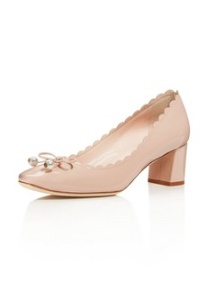kate spade new york Women's Danielle Patent Leather Mid Heel Pumps