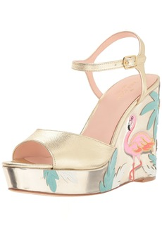Kate Spade New York Women's Darie Wedge Sandal