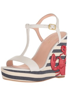 Kate Spade New York Women's Deacon Wedge Sandal  10 Medium US