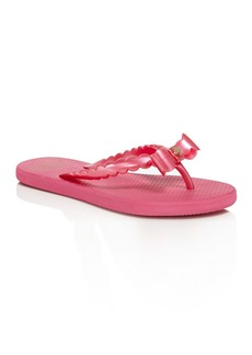 kate spade new york Women's Denise Bow Flip-Flops