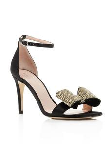 kate spade new york Women's Gweneth Embellished Bow High-Heel Sandals
