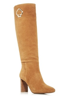 kate spade new york Women's Helana Block Heel Tall Boots