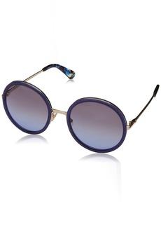 Kate Spade New York Women's Lamonica Round Sunglasses