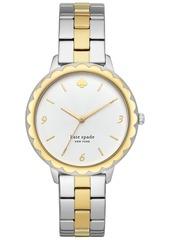 kate spade new york Women's Morningside Two-Tone Stainless Steel Bracelet Watch 38mm