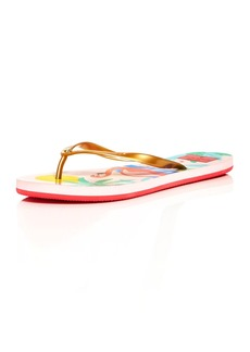 kate spade new york Women's Nassau Pearlized Flip-Flops