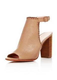 kate spade new york Women's Orelene Leather High-Heel Booties