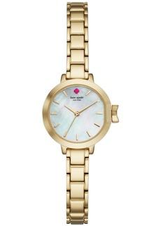 kate spade new york Women's Park Row Gold-Tone Stainless Steel Bracelet Watch 24mm KSW1361