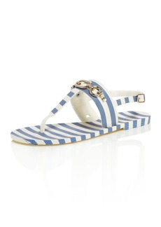 kate spade new york Women's Polly Striped Thong Sandals