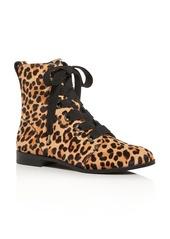 kate spade new york Women's Romia Leopard-Print Calf Hair Booties - 100% Exclusive