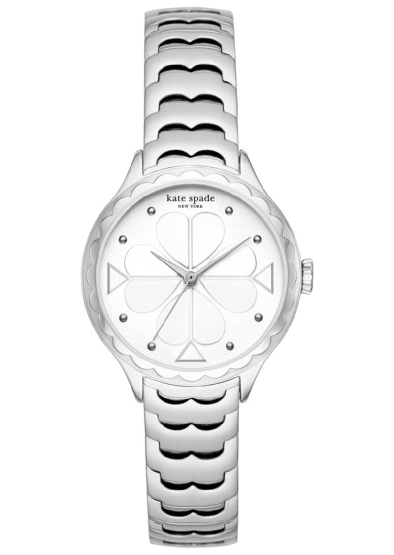 kate spade new york Women's Scallop Stainless Steel Bracelet Watch 32mm