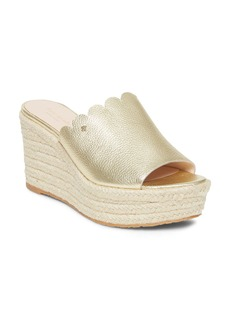 kate spade new york Women's Tabby Espadrille Wedge Sandals