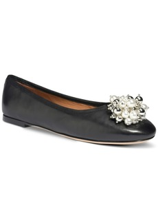 Kate Spade New York Women's Vilette Embellished Ballet Flats