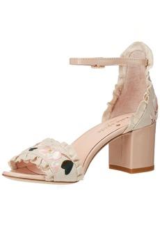 Kate Spade New York Women's Wayne Heeled Sandal  10.5 Medium US