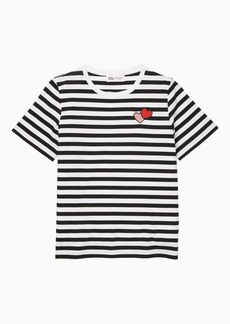 kate spade new york x archie comics archie heart stripe tee