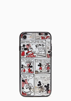 kate spade new york x minnie mouse comic iphone se, 7 & 8 case