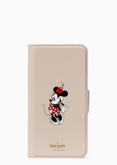 kate spade new york x minnie mouse iphone xs max folio case