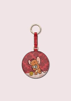 kate spade new york x tom & jerry key fob