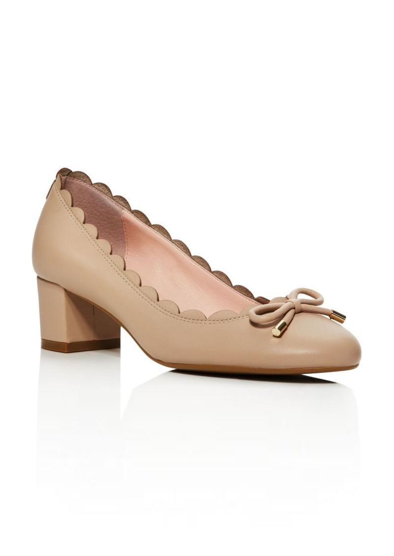 7c4b72577982 Kate spade kate spade new york yasmin scalloped block heel pumps shoes jpg  800x1127 Kate spade