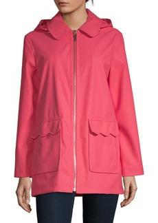 Kate Spade Zipped Half Trench Coat