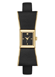 kate spade new york 'kenmare' bow case watch, 20mm