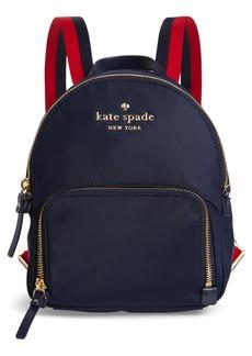 kate spade watson lane varsity stripe small backpack