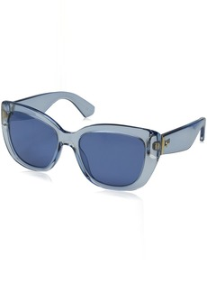 Kate Spade Women's Andrinas Cateye Sunglasses Solid Blue