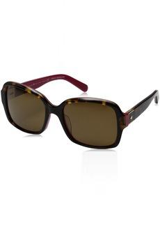 Kate Spade Women's Annora/Ps Rectangular Sunglasses