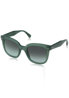 Kate Spade Women's Atalia/s Square Sunglasses GREEN