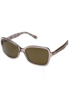 Kate Spade Women's Ayleenps Polarized Rectangular Sunglasses  56 mm