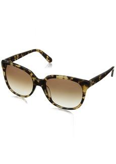 Kate Spade Women's Bayleigh Oval Sunglasses