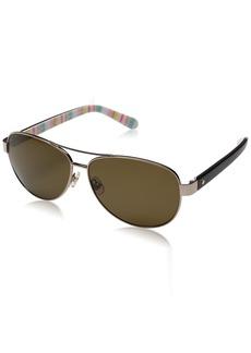 Kate Spade Women's Dalia2/P/s Aviator Sunglasses