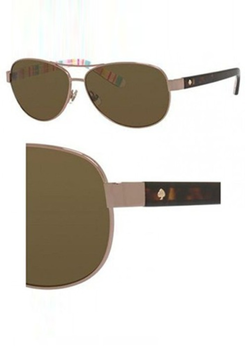dbc808f2db Kate Spade Women s Ally Polarized Aviator Sunglasses - Bitterroot ...