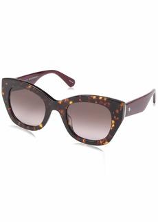 Kate Spade Women's Jalena/s Cateye Sunglasses  49 mm