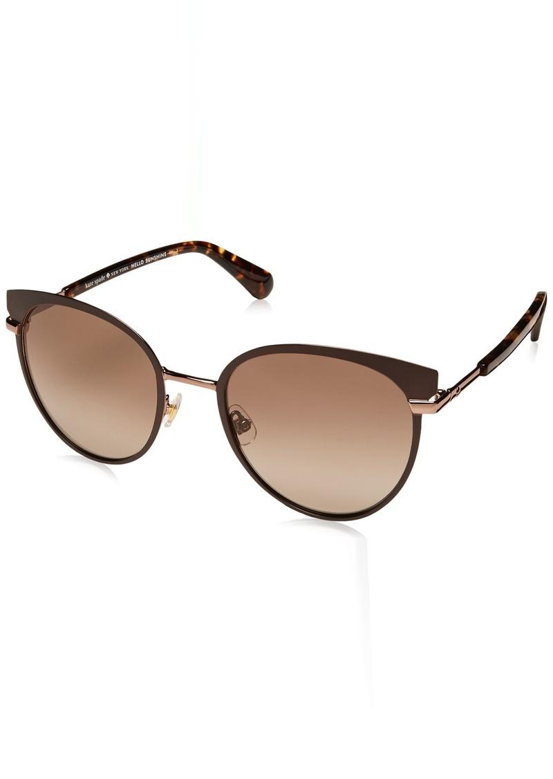 Kate Spade Women's Janalee/s Round Sunglasses  53 mm