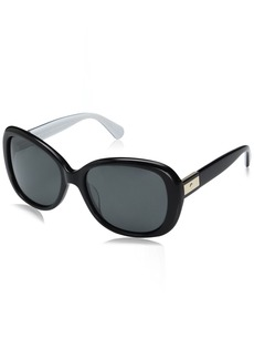 Kate Spade Women's Judyann/p/s Polarized Oval Sunglasses