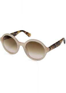 Kate Spade Women's Khrista/s Round Sunglasses  52 mm