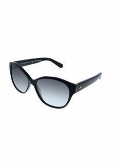 Kate Spade Women's Kiersten 2s Oval Sunglasses  56 mm