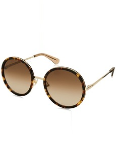 Kate Spade Women's Lamonica/s Round Sunglasses  54 mm