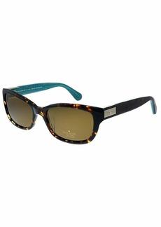 Kate Spade Women's Marilee/p/s Rectangular Sunglasses  53 mm
